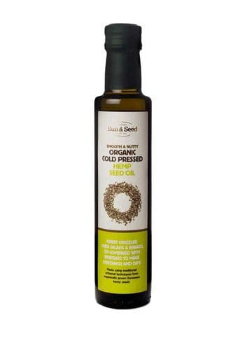Sun & Seed Organic Cold Pressed Hemp Seed Oil